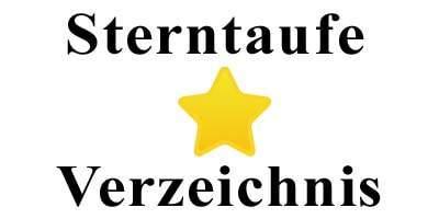 Sterntaufe Verzeichnis Logo